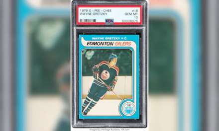 Wayne Gretzky's Rookie Card Sells For Over a Million Bucks