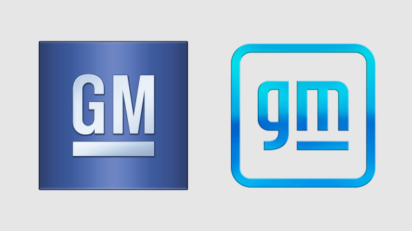GM rebrands Logo For The Electric Age