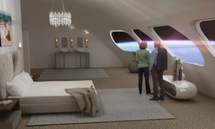 The New Luxury Hotel…IN SPACE!